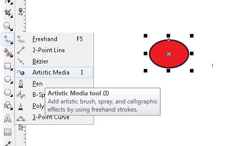 chọn công cụ artistic mediatool