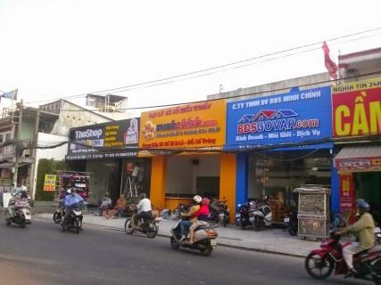 mặt tiền trụ sở Minh Chính
