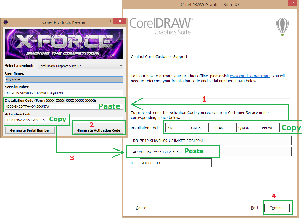 corel draw x5 serial number