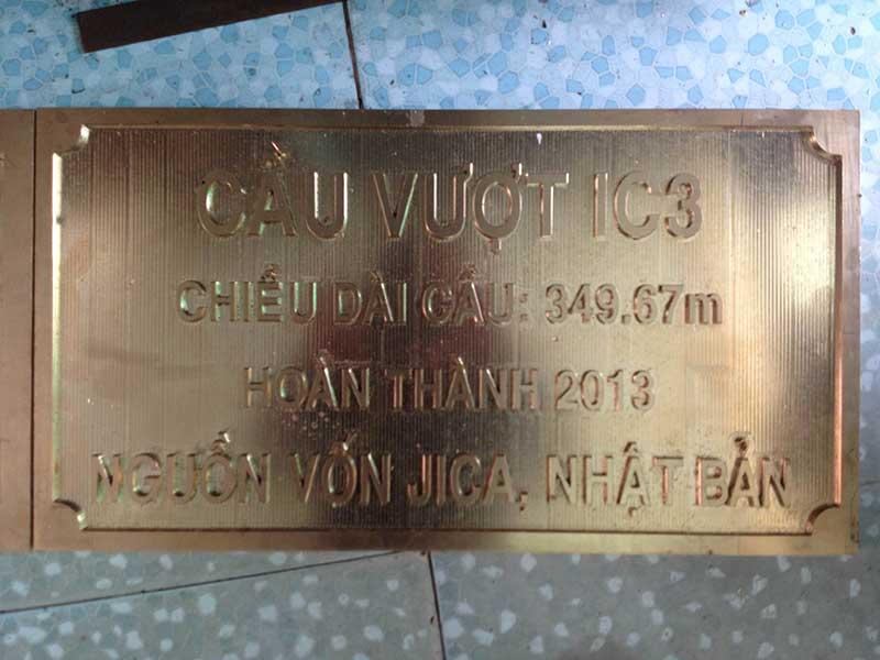 Khắc inox CNC