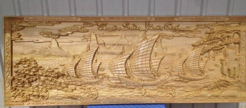 Ngoài lịch gỗ, quý khách có thể trang trí thêm trong căn nhà bằng dịch vụ cắt tranh ảnh CNC gỗ